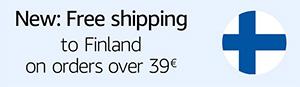 Toimitus ilmaiseksi kun loppusumma on yli 39€