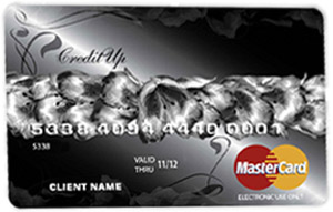Kuva CreditUp Prepaid luottokortista