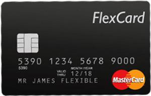 Kuva Flexcard prepaid luottokortista