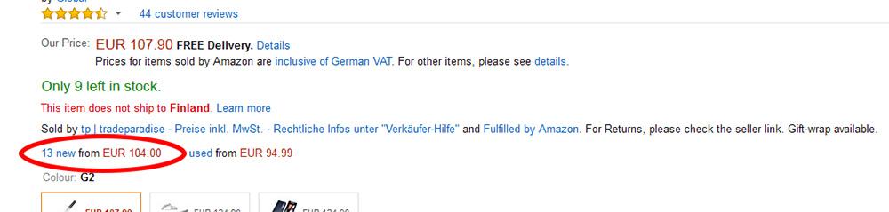 Amazon Uk Tilaaminen