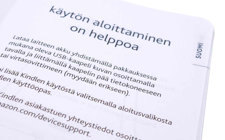 Amazon on ottanut huomioon myös suomalaiset asiakkaansa
