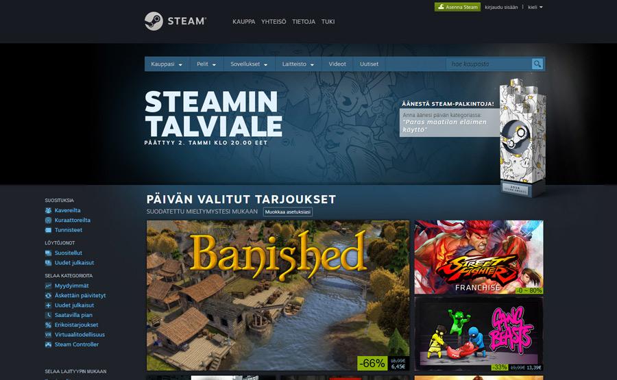 Steam Pelit
