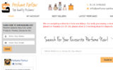 Kuvakaappaus Perfume Parlour nettikaupasta